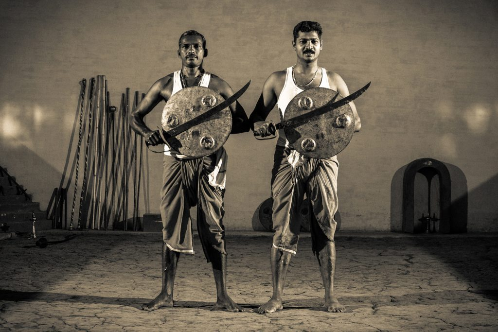 Kalaripayattu,the Ancient Martial art of Kerala India, Photo: Am