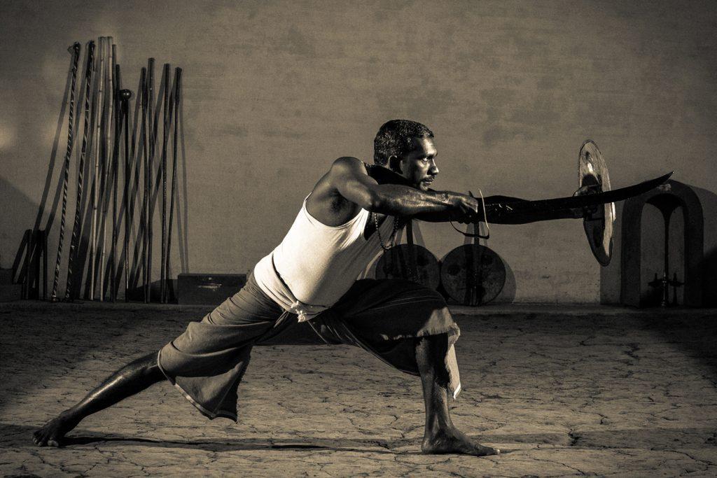 Kalaripayattu,the Ancient Martial art of Kerala India, Photo: Am